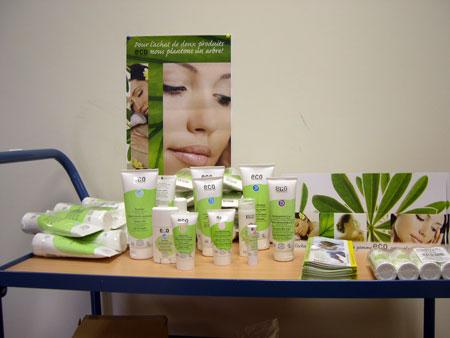 Nouvelle gamme cosmetique bio: eco cosmetics