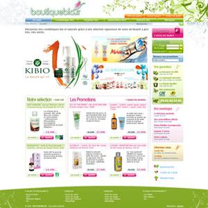 capture nouveau design boutiquebio.fr